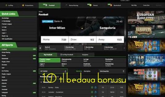 10 tl bedava bonusu al